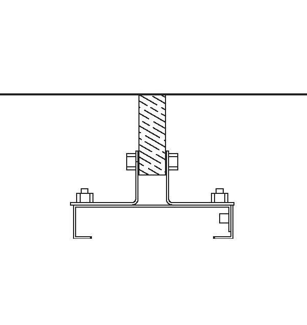 Heatstrip Design Montagebügel für Balken und Stangen