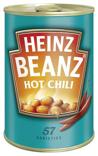 Heinz Beanz Hot Chili 415g Dose