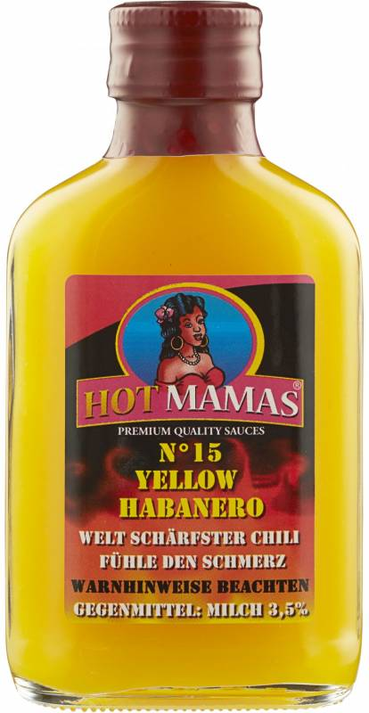 HotMamas N°15 - Yellow Habanero - NEU 2015