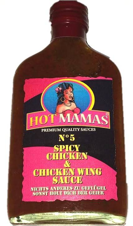 Hot Mamas N°5 - Spicy Chicken & Chicken Wing Sauce - NEU 2015