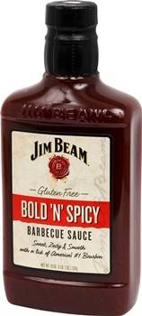 Jim Beam Bold N Spicy BBQ Sauce 510g