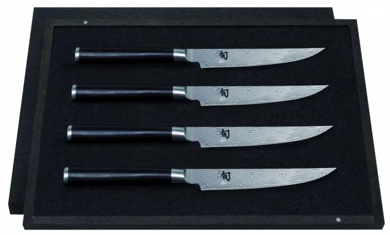 KAI Shun Steakmesser Set 4 tlg.