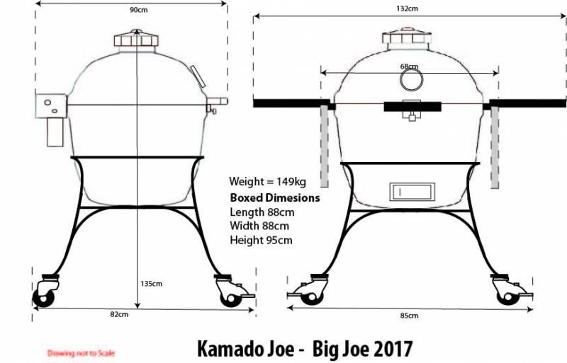 Kamado Joe Big Joe Keramikgrill - 2017er Modell