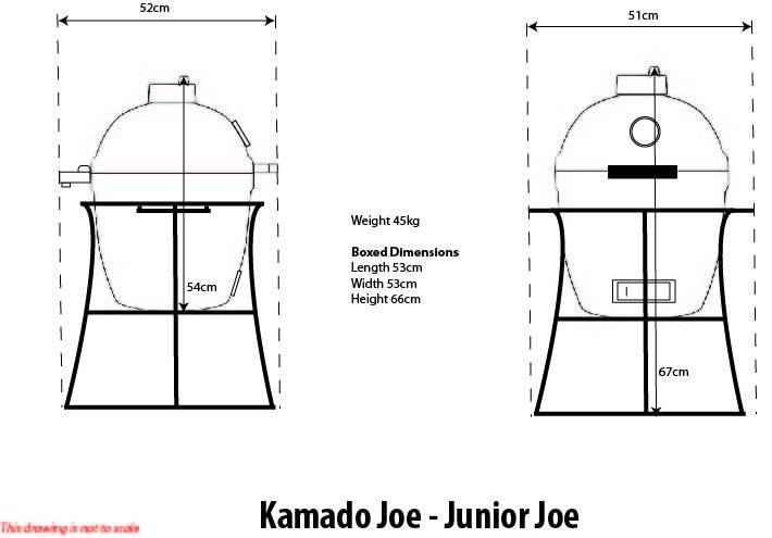 Kamado Joe Junior Keramikgrill