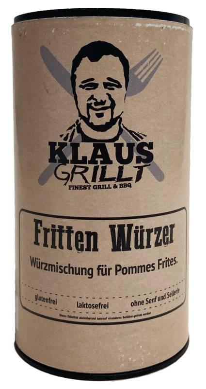 Frittenwürzer 120 g Streuer by Klaus grillt