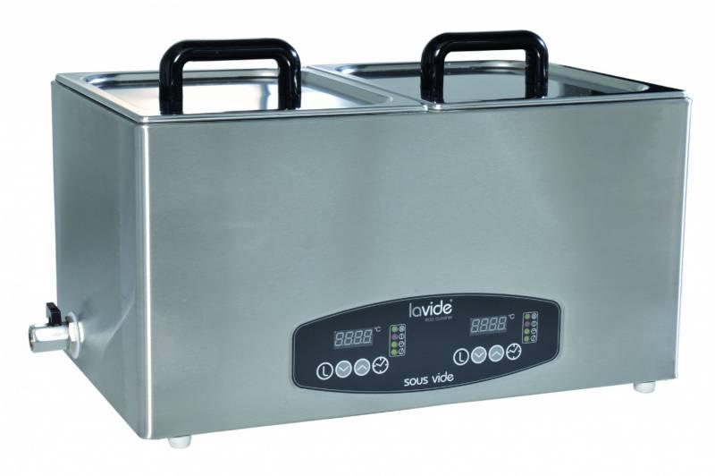 Lavide Wasserbad LV.808 2x8 Liter Sous-Vide Gerät