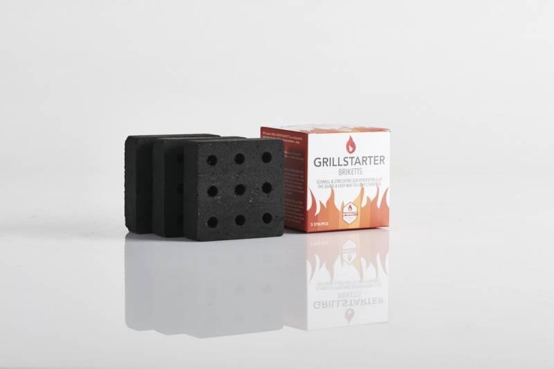 McBrikett Grillstarter Briketts 3er Set