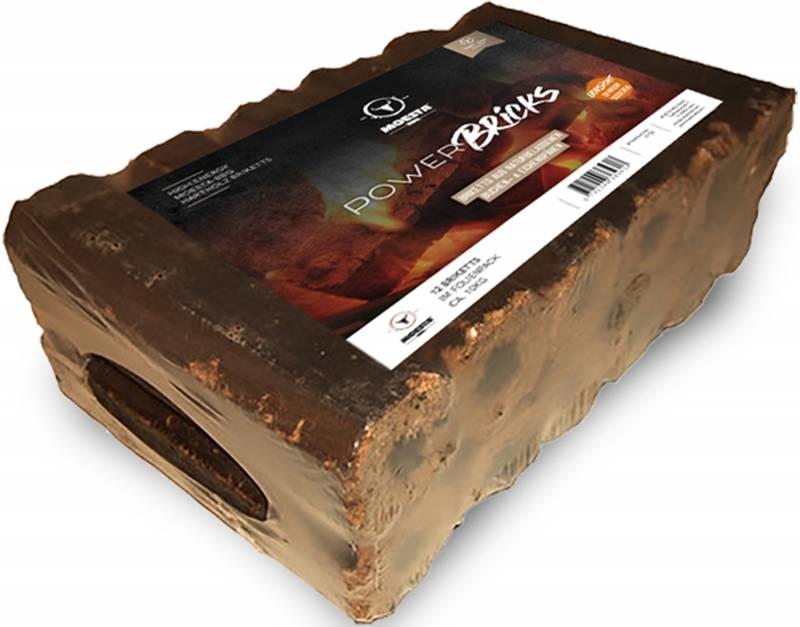 Moesta PowerBricks Hartholz Brickets - 12 Stück im Folienpack