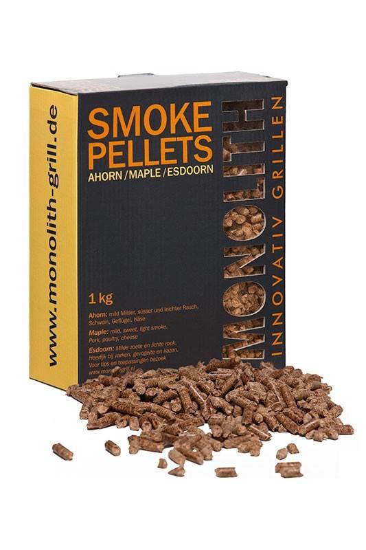 Monolith Smoke Pellets / Grillpellets Ahorn (Maple) 1kg Karton