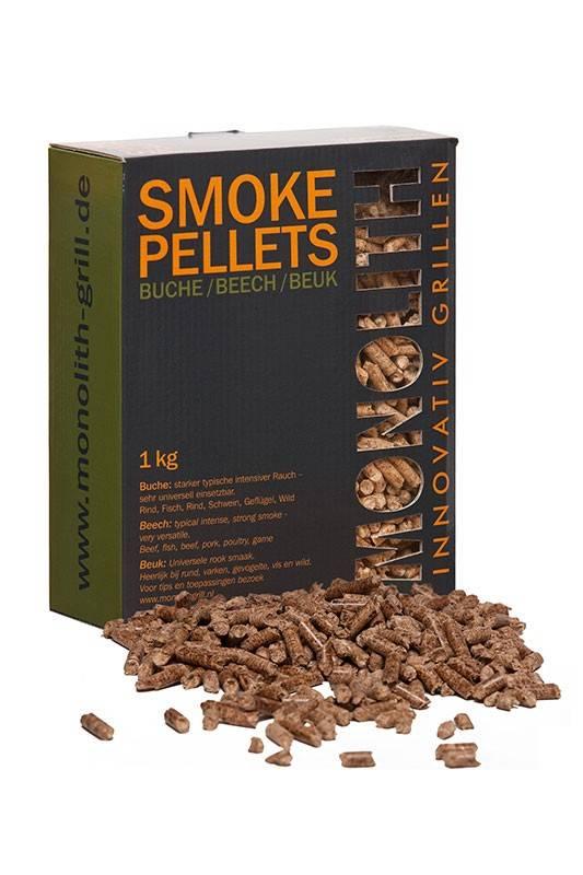Monolith Smoke Pellets / Grillpellets Buche (Beech) 1kg Karton