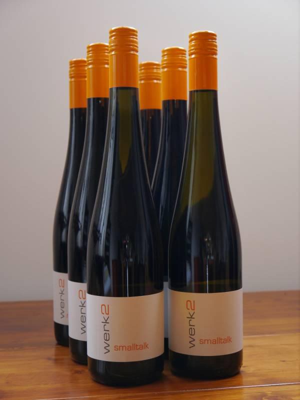 Werk2 Smalltalk Riesling trocken   - 1 Flasche Grillwein