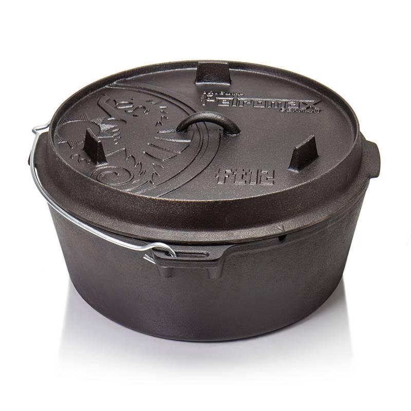 Petromax ft12-t Feuertopf Dutch Oven 10,8 l - ohne Füsse