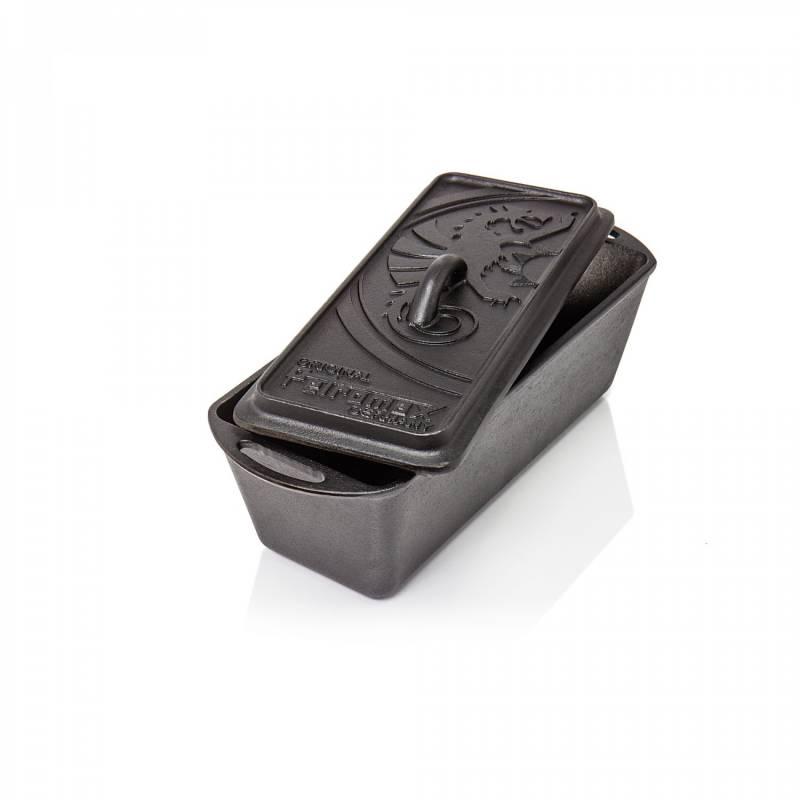 Petromax Kastenform mit Deckel aus Gusseisen