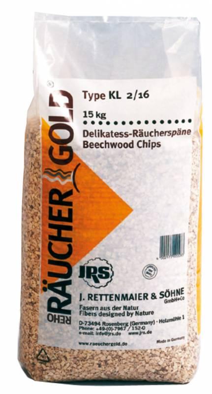 RG KL 2 - 16 15 kg Räuchergold Buchenholz Räucherchips