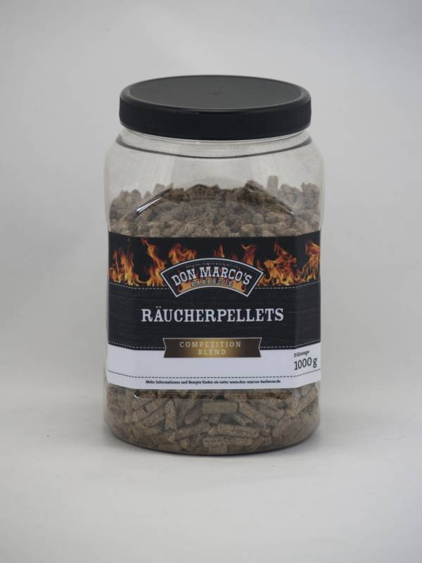 Don Marco`s Räucher Pellets (Smoking Spice) Competition Blend