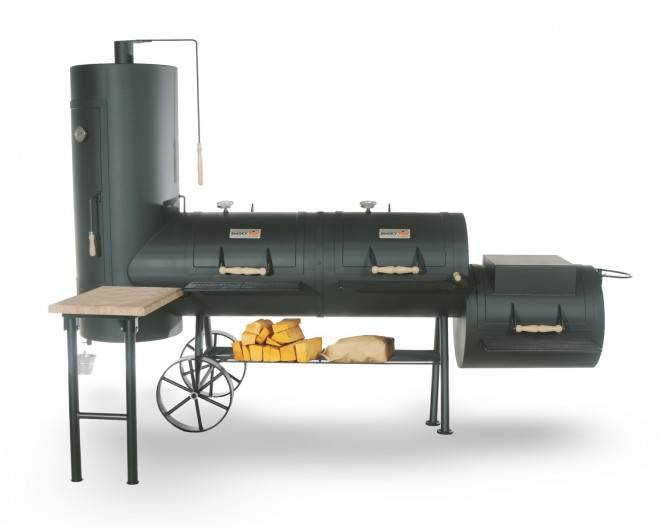 SMOKY FUN Smoker Big Chief 24