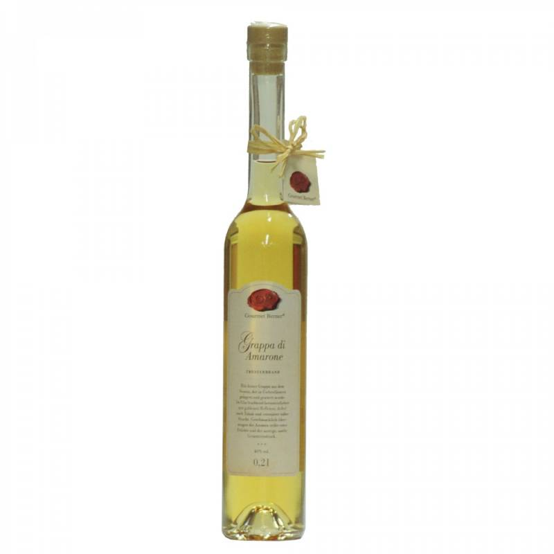 Gourmet Berner Grappa di Amarone, 40%vol., 0,2l