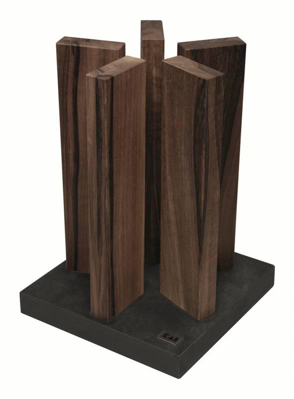 Kai Messerblock Stonehenge Granit/Walnuss