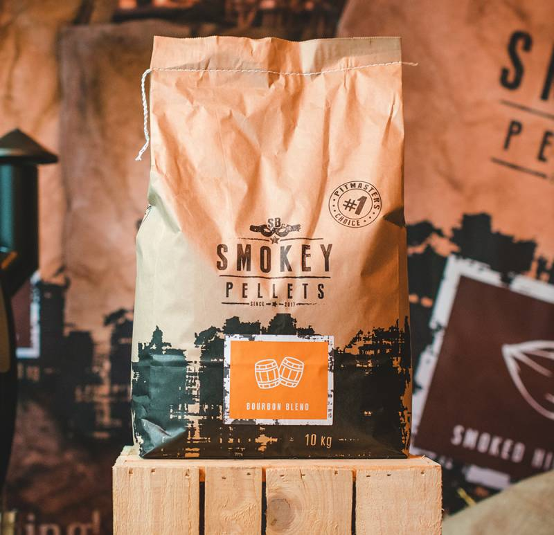 Smokey Bandit Grillpellets Bourbon Blend 10kg