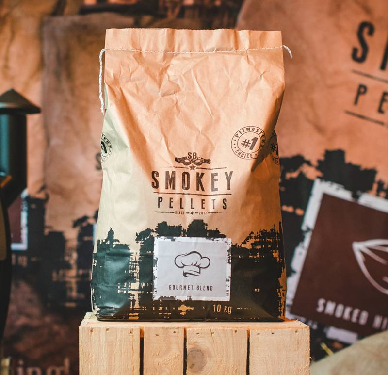 Smokey Bandit Grillpellets Gourmet Blend 10kg