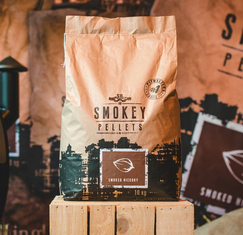 Smokey Bandit Grillpellets Smoked Hickory 10kg