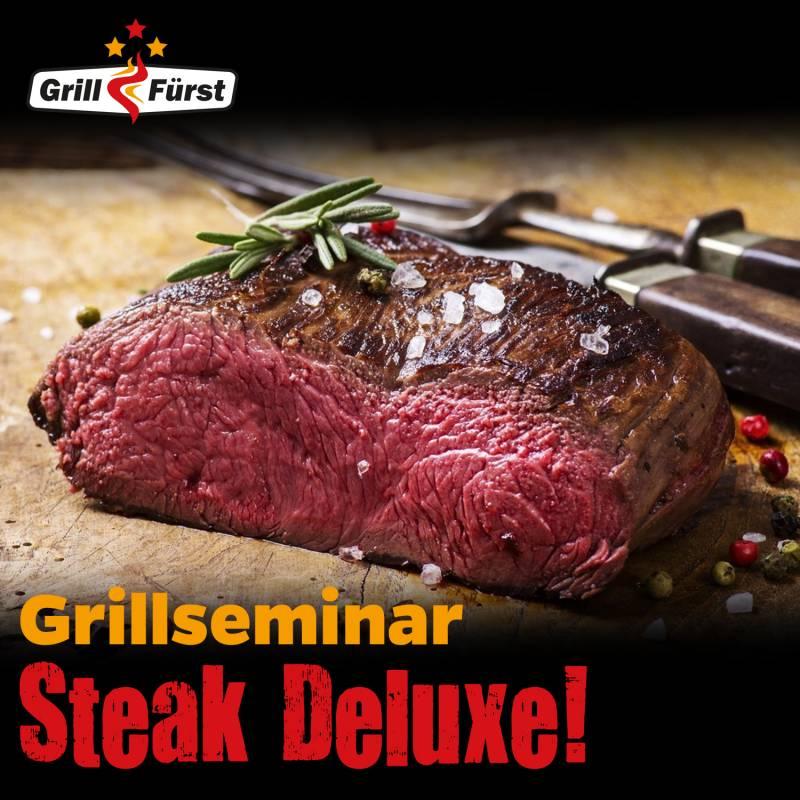Steak Deluxe! Grillkurs, Samstag, 30.10.2021, 16:00 Uhr, Bad Hersfeld