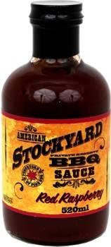 Stockyard Red Rapsberry BBQ Sauce 520ml