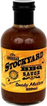 Stockyard Smoky Mustard BBQ Sauce 520ml