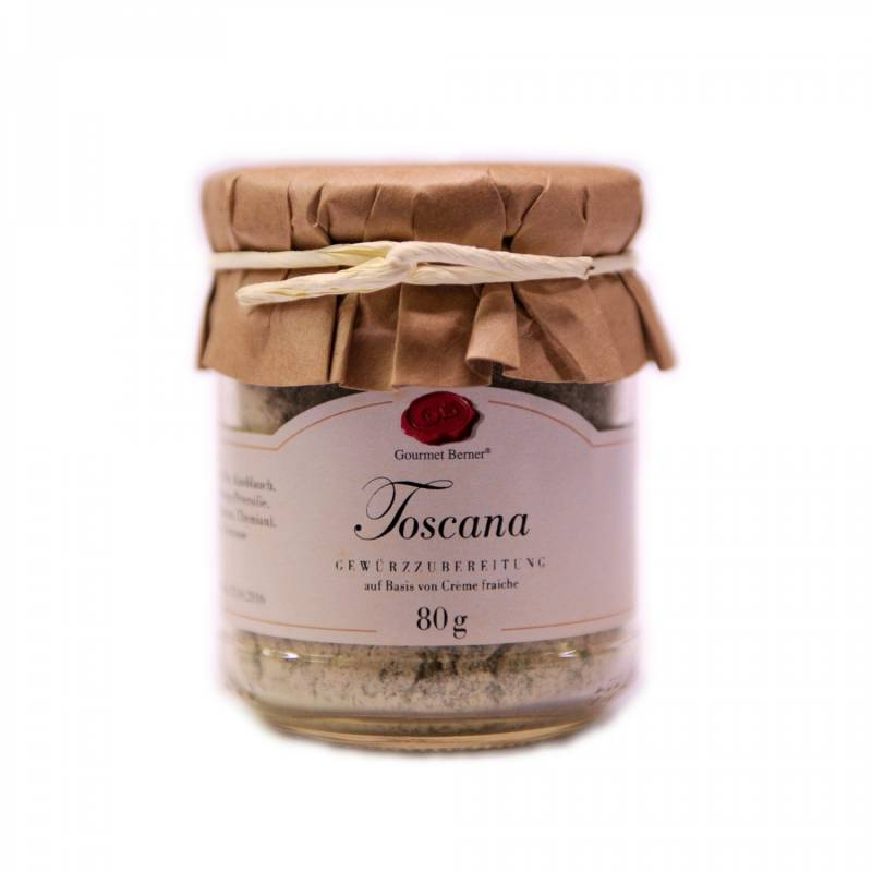 Gourmet Berner Toscana Dip im 80g Glas