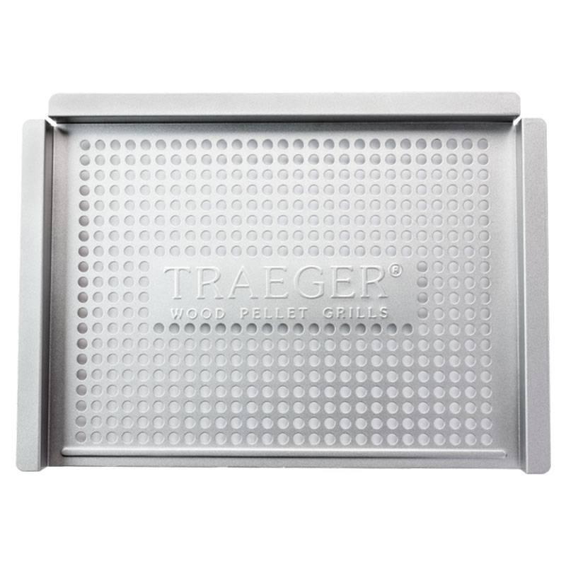 Traeger Grillkorb / Lochblech aus Edelstahl 32,5 x 45,5 cm