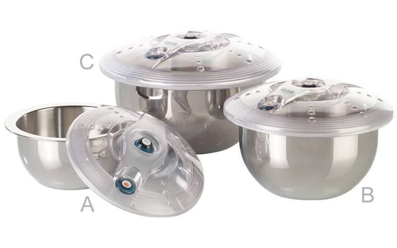 Lava ES-Line Vakuumbehälter 3er Set