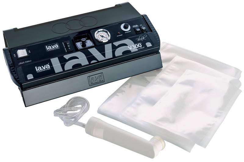 Lava Vakuumiergerät V.300 Black Edition inkl. Starterset 2