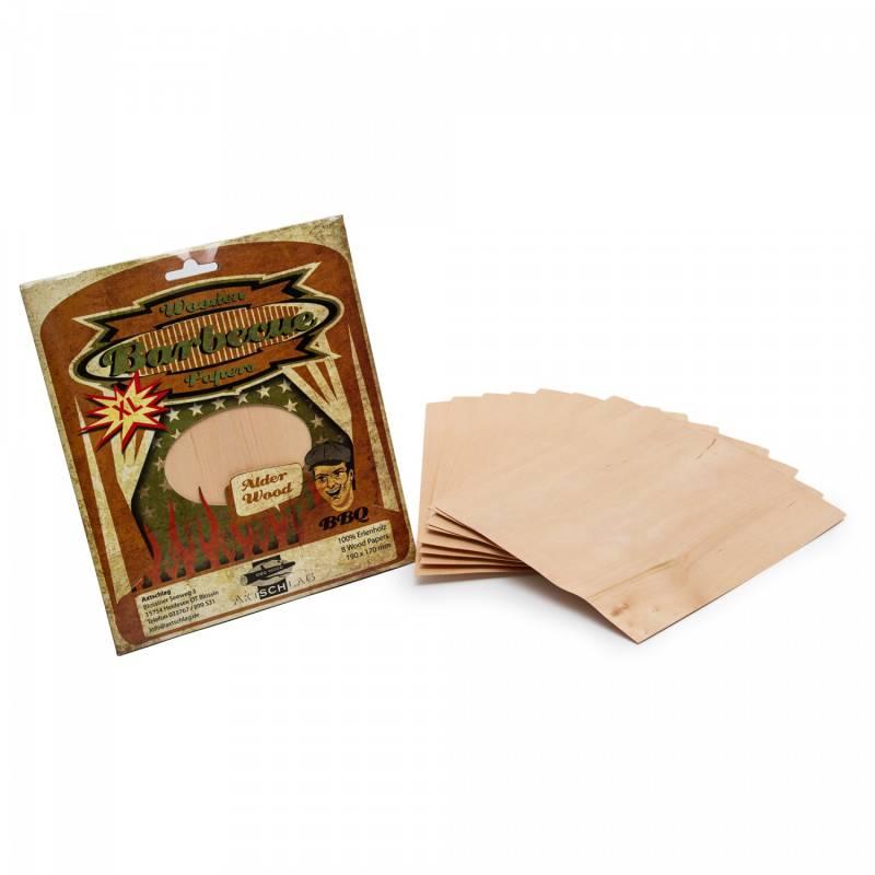 Axtschlag Wood Wraps Alder - Erle XL 190x170 8-er Pack