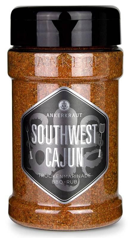 Ankerkraut Southwest Cajun, BBQ-Rub, 170 g Streuer