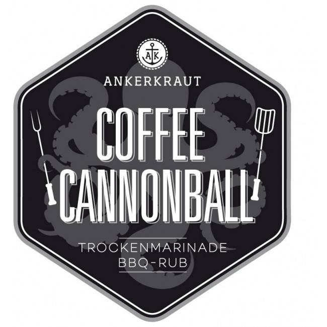 Ankerkraut Coffee Cannonball, BBQ-Rub, 200 g Streuer