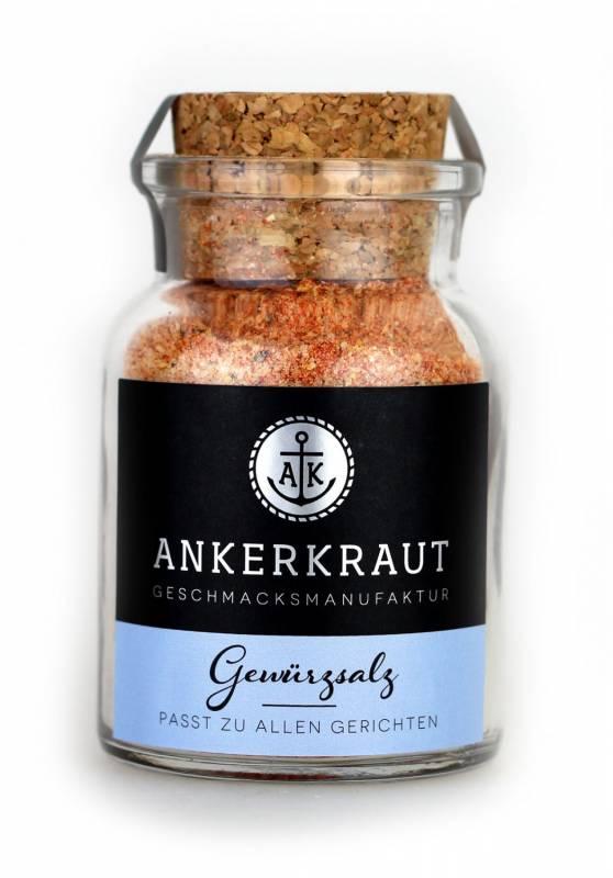 Ankerkraut Gewürzsalz, 140 g Glas