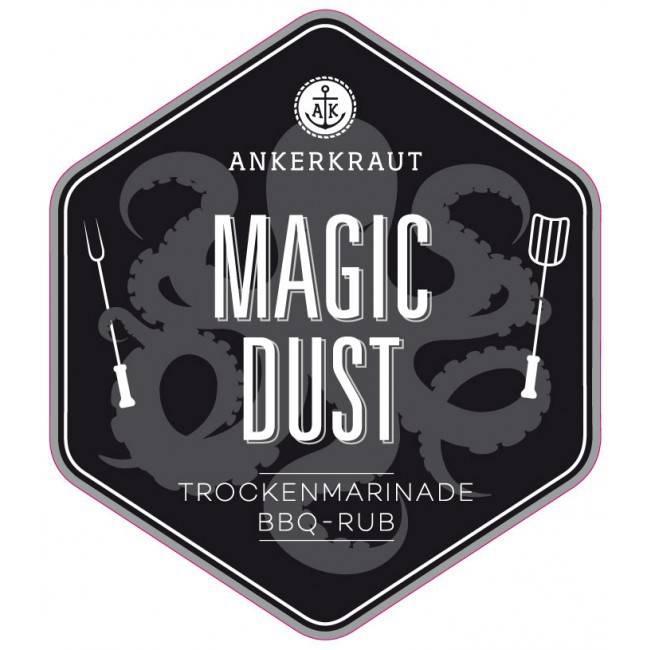 Ankerkraut Magic Dust, BBQ-Rub, 230 g Streuer