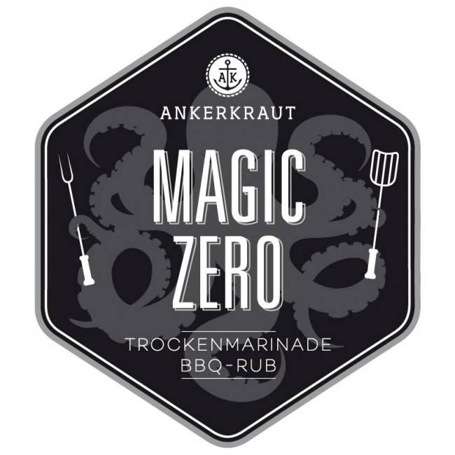 Ankerkraut Magic Zero, BBQ-Rub, 230 g Streuer