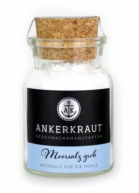 Ankerkraut Meersalz grob, 170 g Glas