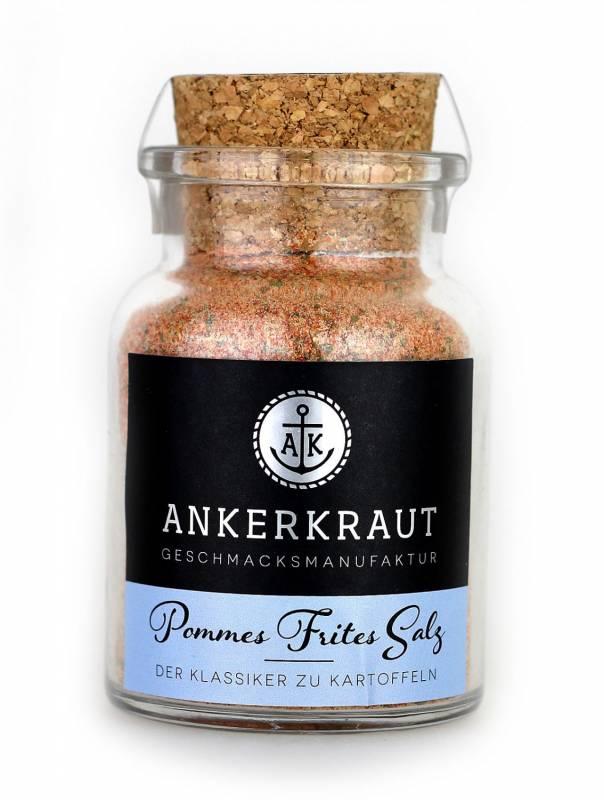 Ankerkraut Pommes Frites Salz, 130 g Glas