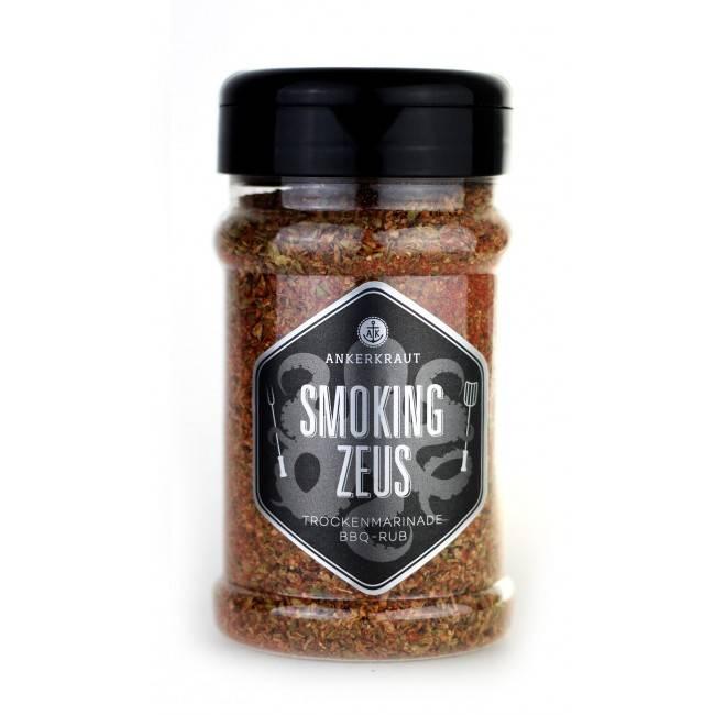 Ankerkraut Smoking Zeus, BBQ-Rub, 200 g Streuer