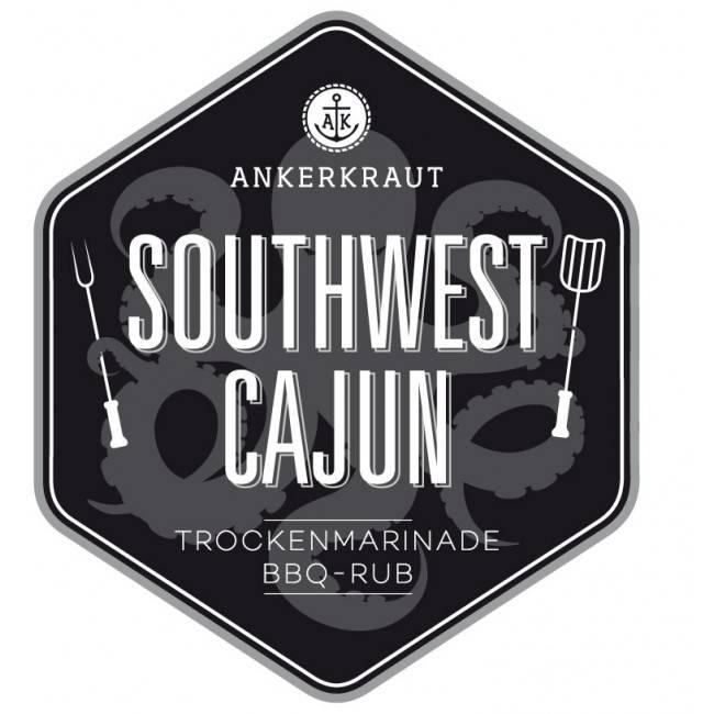 Ankerkraut Southwest Cajun, BBQ-Rub, 200 g Streuer