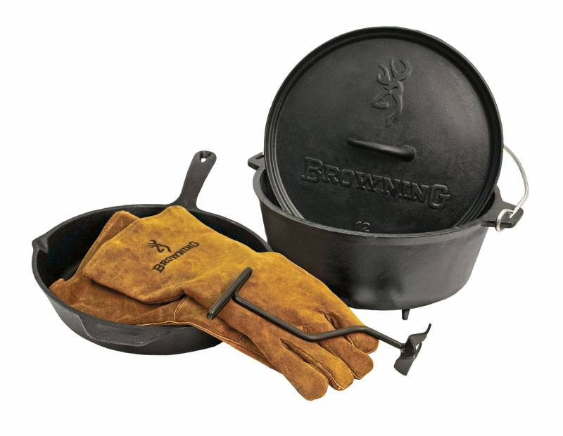 """Camp Chef Browning 12"""" Gusseisen Set"""