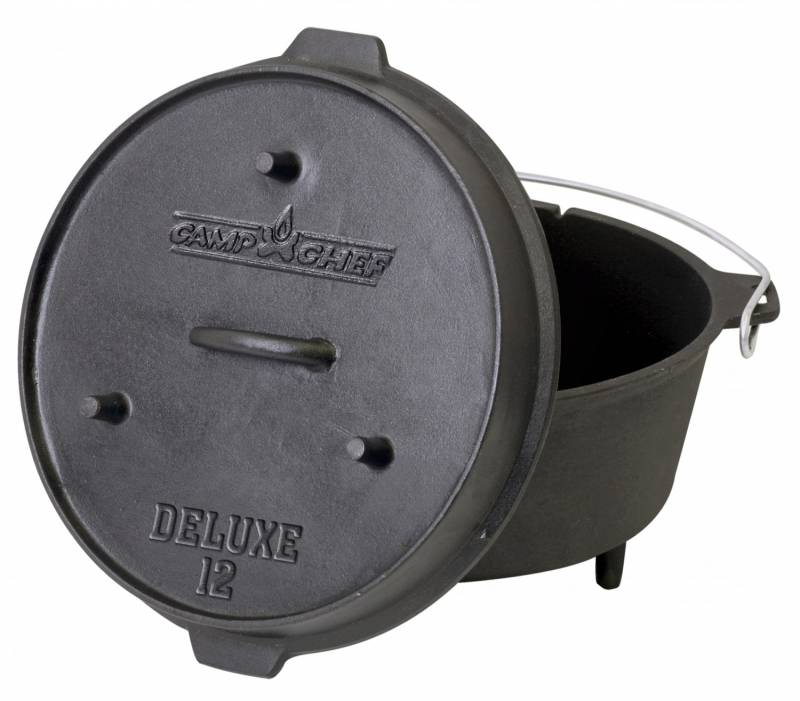 "Camp Chef 12"" Deluxe Dutch Oven Set"