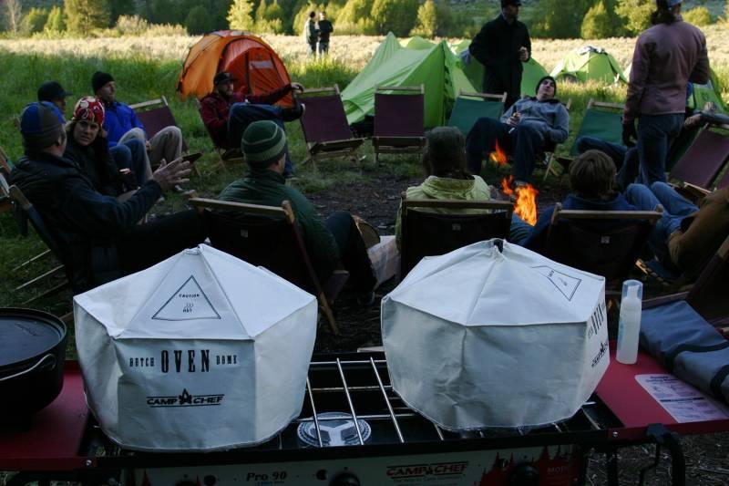 Camp Chef Dutch Oven Dome & Hitzeverteiler