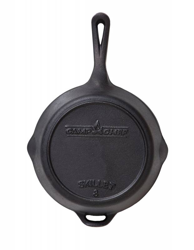 """Camp Chef 8"""" Gusseisen Bratpfanne rund"""