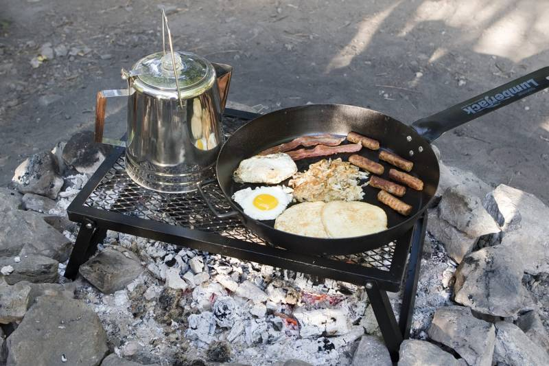"Camp Chef Lumberjack Feuerstellen Grill 24"" x 16"""