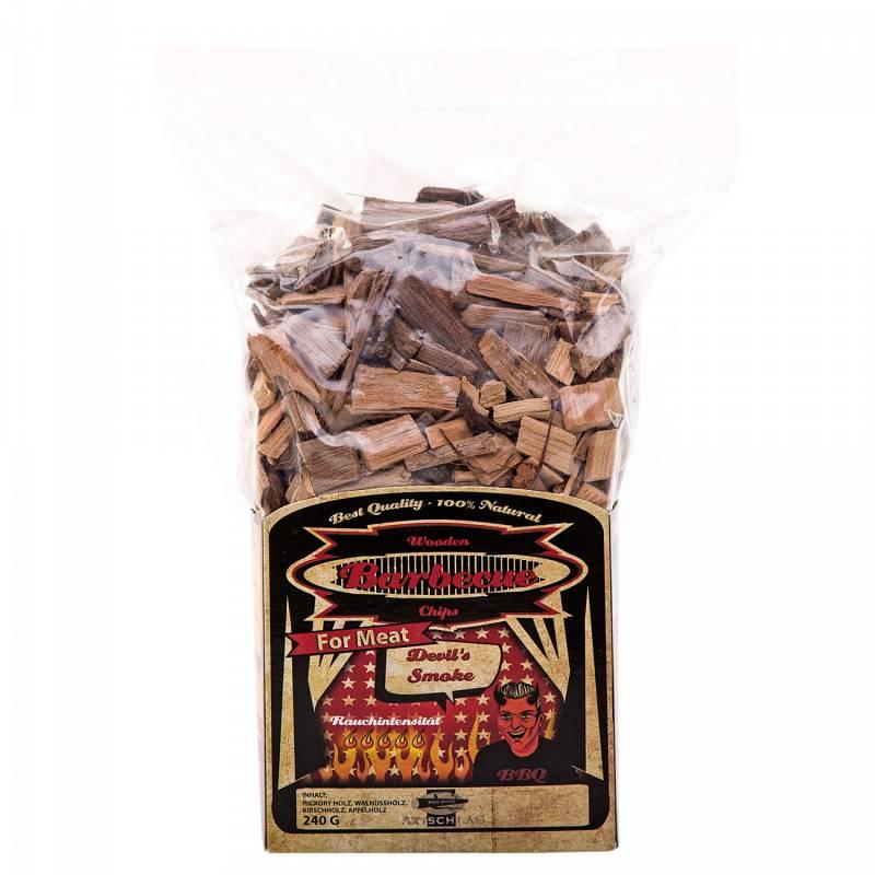Axtschlag Räucherchips Devil´s Smoke Spezialmischung für Fleisch 240 g