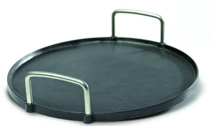 dancook Zubehör: Pizzaplatte / Grillplatte Gusseisen rund Ø37,5 cm