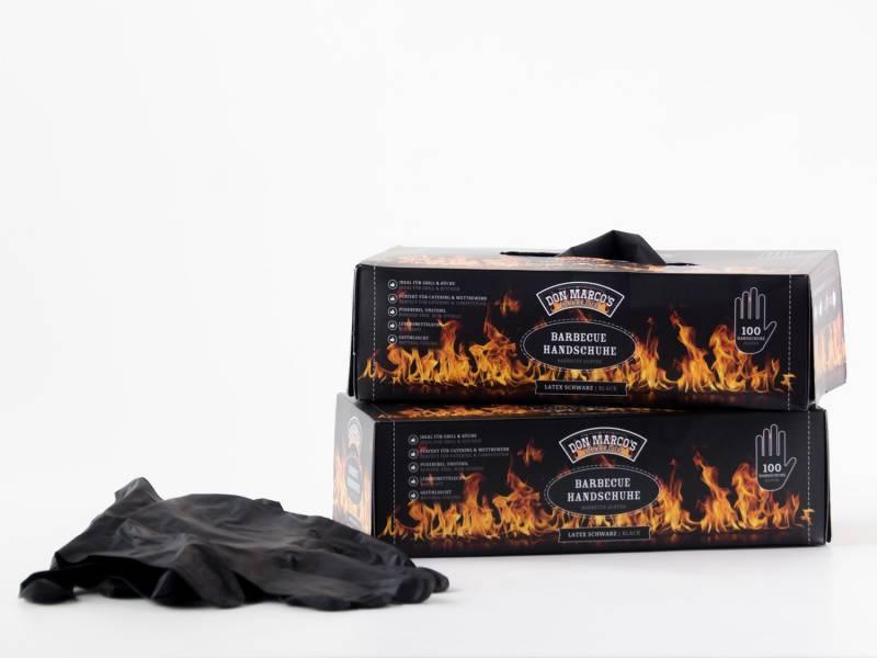 Don Marco`s BBQ Handschuhe Latex, XL